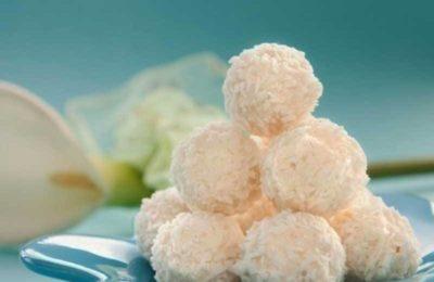 Сырные шарики (рафаэлло)
