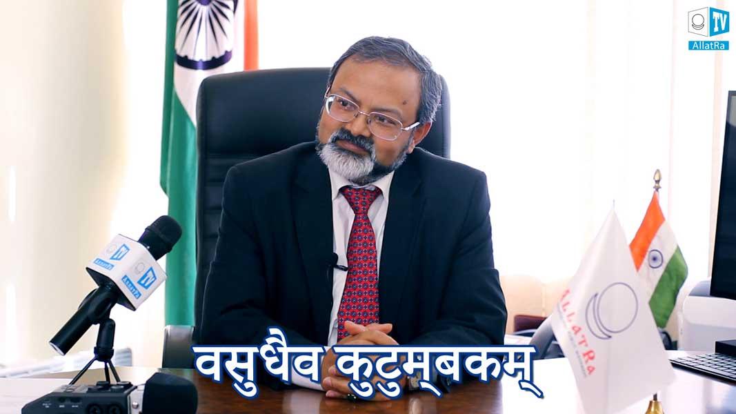 Посол Индии Манодж Кумар Брахти
