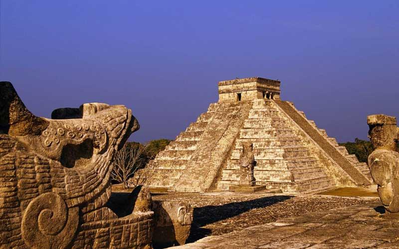 Пирамида Кукулькана Мексика
