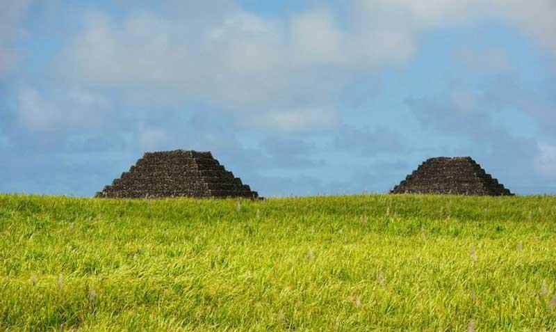 Пирамиды на острове Маврикии