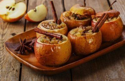 Осенние фрукты и приправы