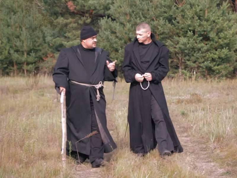 Притча Два монаха