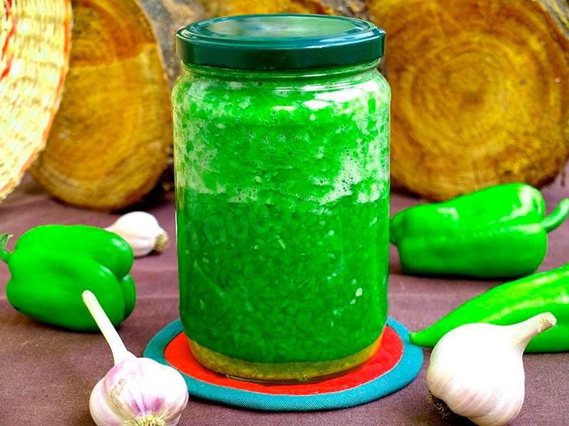 Зелёная аджика